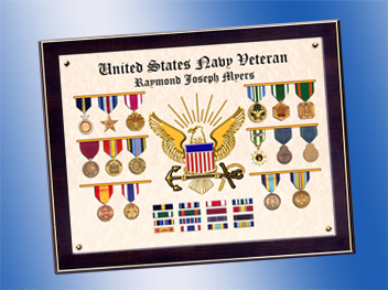 US Navy All Medals Certificate